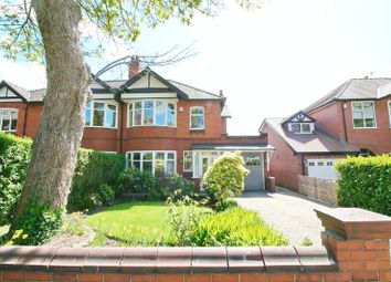 Thumbnail 3 bed semi-detached house for sale in Worsley Road, Worsley, Manchester