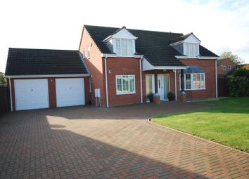 Thumbnail 4 bed detached house for sale in Bittern Close, Cowbit, Spalding