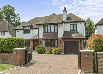Thumbnail 5 bed detached house for sale in Oak Road, Cobham