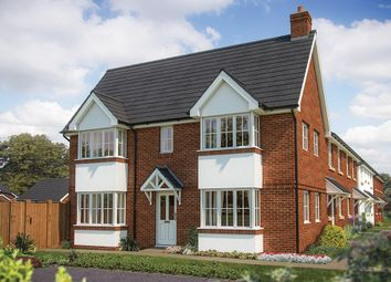 "Thumbnail 3 bedroom semi-detached house for sale in ""The Sheringham"" at Chard Road, Axminster"