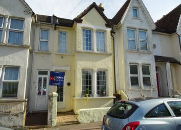 Thumbnail 3 bed terraced house for sale in Windmill Road, Gillingham, Kent.