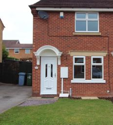 Thumbnail 2 bed semi-detached house to rent in Greenfinch Dale, Gateford, Worksop