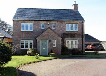 Thumbnail 3 bed detached house for sale in Dairy Court, Acklington, Morpeth