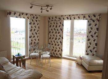 Thumbnail 2 bed flat to rent in Saltire Square, Edinburgh Available 10th July