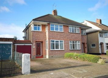 Thumbnail 3 bed semi-detached house for sale in Greencroft Avenue, Ruislip