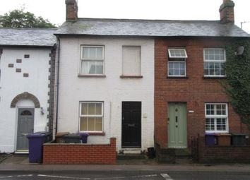 Thumbnail 2 bed terraced house to rent in Old Park Road, Hitchin