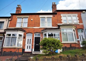 Thumbnail 2 bed terraced house for sale in St Thomas Road, Birmingham