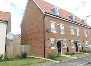 Thumbnail 3 bed end terrace house for sale in Cambrian Lane, Little Stanion, Corby, Northamptonshire