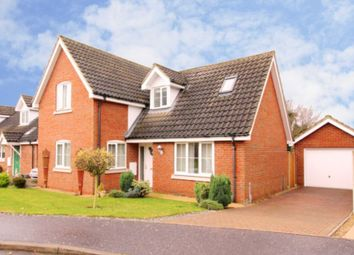 Thumbnail 3 bed detached house for sale in Oakleigh Drive, Swaffham