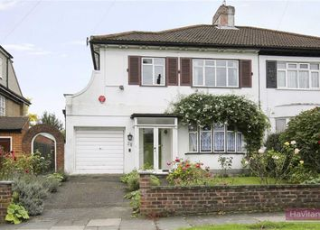 Thumbnail 3 bed semi-detached house for sale in Houndsden Road, London
