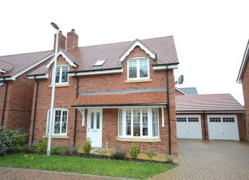 Thumbnail 4 bed detached house for sale in The Pippins, Swallowfield, Reading