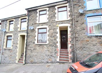 Thumbnail 4 bed terraced house for sale in William Street, Llwynypia -, Tonypandy
