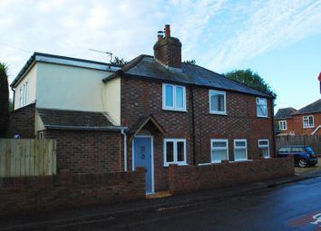 Thumbnail 3 bed semi-detached house to rent in Pennington, Lymington, Hampshire