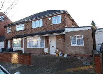 Thumbnail 4 bed semi-detached house to rent in Fraser Road, Sparkhill, Birmingham.