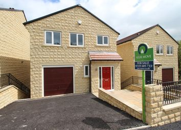 Thumbnail 4 bed detached house for sale in Plantation Fold, Oakworth, Keighley