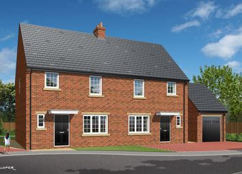 Thumbnail 3 bed semi-detached house for sale in 'the Fredrick', Plot 7, Park View, Brierley, Barnsley