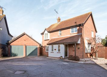 Thumbnail 4 bed detached house for sale in Fairfax Mead, Chelmsford