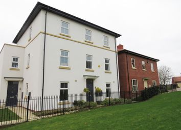 Thumbnail 4 bed town house for sale in Stockwell Drive, Mackworth, Derby