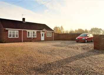 Thumbnail 3 bed detached bungalow for sale in Smeeth Road, Wisbech
