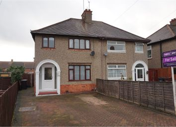 Thumbnail 3 bed semi-detached house for sale in Beverley Crescent, Northampton