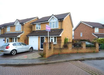 Thumbnail 3 bed detached house for sale in Groveside Close, Carshalton