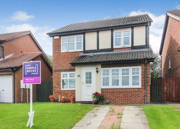 Thumbnail 3 bed detached house for sale in Teignmouth Close, Hartlepool