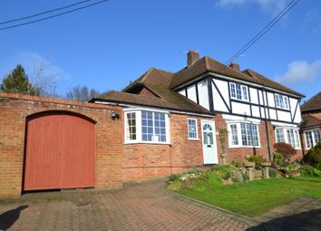 Thumbnail 4 bed semi-detached house for sale in First Avenue, Amersham