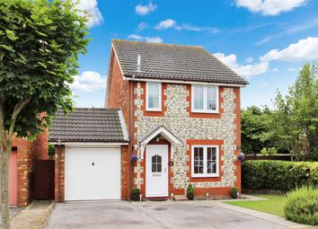 Thumbnail 3 bedroom detached house for sale in Bugsby Way, Grange Farm, Kesgrave, Ipswich