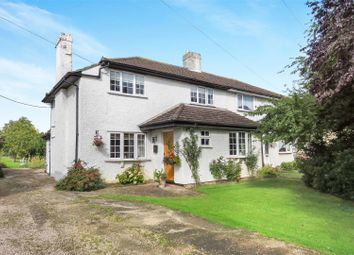 Thumbnail 2 bed semi-detached house for sale in Caldecote Road, Ickwell, Biggleswade