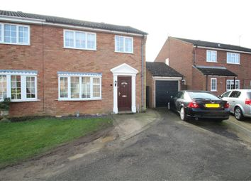 Thumbnail 3 bed semi-detached house for sale in Masefield Road, Stowmarket, Suffolk