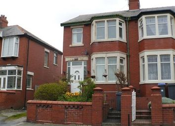 Thumbnail 1 bed flat to rent in Ascot Road, Blackpool