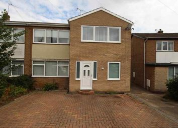Thumbnail 4 bed semi-detached house to rent in Newbury Way, Doncaster