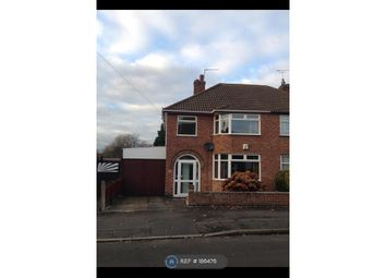 Thumbnail 3 bed semi-detached house to rent in Mossdale Road, Braunstone Town