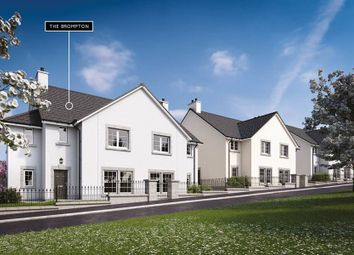 "Thumbnail 4 bed semi-detached house for sale in ""The Brompton"" at Danestone, Aberdeen"