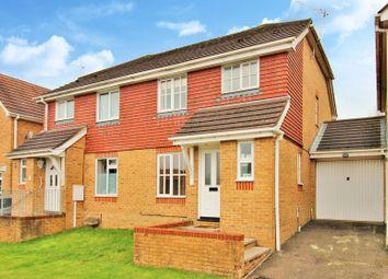 3 bed semi-detached house for sale in Boleyn Close, Maidenbower, Crawley, West Sussex. RH10