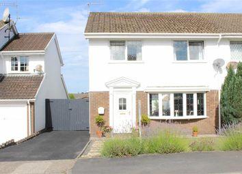 Thumbnail 3 bedroom semi-detached house for sale in Llwynderw, Three Crosses, Swansea