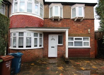 Thumbnail 5 bedroom semi-detached house to rent in Waverley Road, Harrow