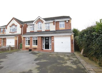 Thumbnail 4 bed detached house for sale in Cherry Way, Messingham, Scunthorpe