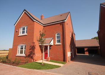 Thumbnail 4 bed detached house for sale in Plot 8, 'the Chancellors', Bedford Road, Moggerhanger