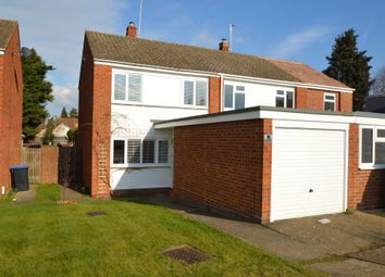 Thumbnail 3 bed semi-detached house to rent in Clifton Close, Addlestone