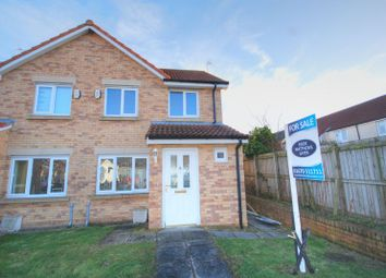 Thumbnail 3 bedroom semi-detached house for sale in Chestnut Way, Widdrington, Morpeth
