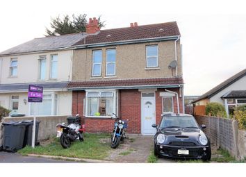 Thumbnail 3 bed semi-detached house for sale in The Crossways, Gosport
