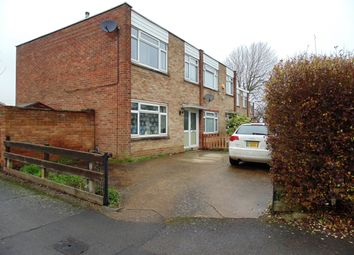 Thumbnail 3 bed end terrace house for sale in Goldsmith Road, Wellingborough, Northamptonshire