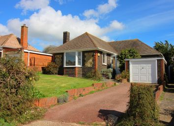 Thumbnail 3 bed detached bungalow for sale in Chute Avenue, Worthing