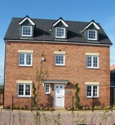 "Thumbnail 5 bed town house for sale in ""The Kipling"" at West Down Court, Cranbrook, Exeter"