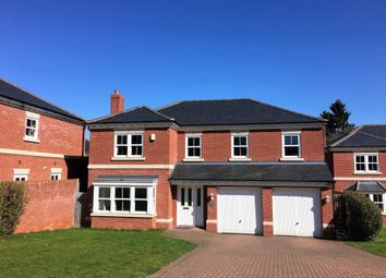 Thumbnail 5 bed detached house for sale in Wallis Close, Melton Mowbray
