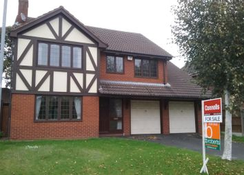 Thumbnail 4 bed detached house for sale in Chaseley Croft, Cannock