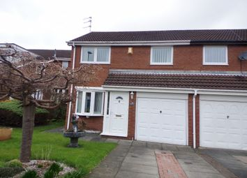 Thumbnail 3 bed semi-detached house for sale in Cherrytree Drive, Bedlington