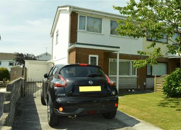 Thumbnail 3 bed semi-detached house for sale in Mabon Close, Swansea