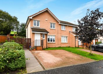 Thumbnail 3 bedroom semi-detached house for sale in Divernia Way, Barrhead, Glasgow